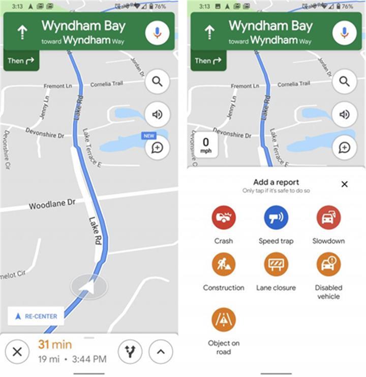 Google Maps thêm tính năng cảnh báo bắn tốc độ