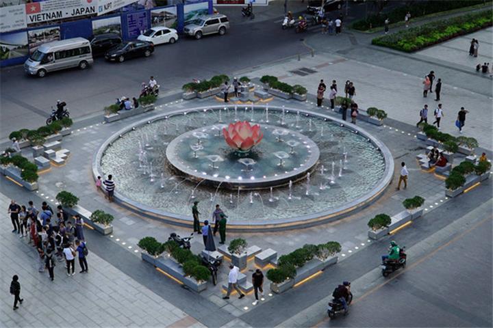 Phố đi bộ Nguyễn Huệ ở TP.HCM sẽ có nhạc nước, chiếu sáng mỹ thuật