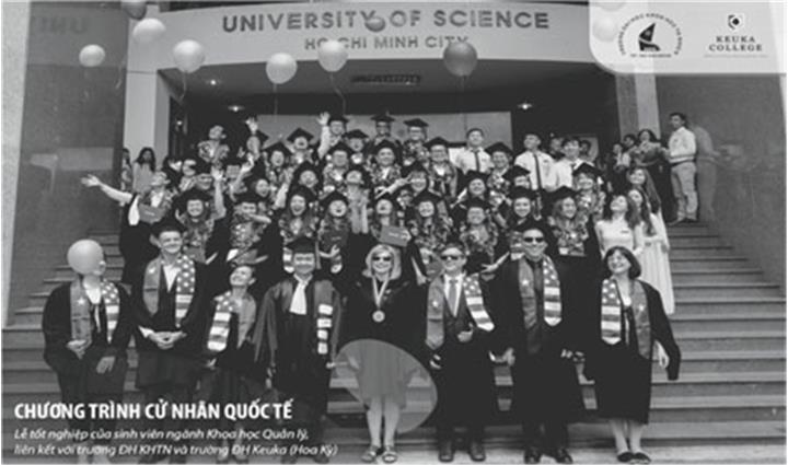 Trường Đại học Khoa học Tự nhiên, ĐHQG TP.HCM: 60 chỉ tiêu xét tuyển học kỳ mùa xuân ngành Kinh doanh Quốc tế