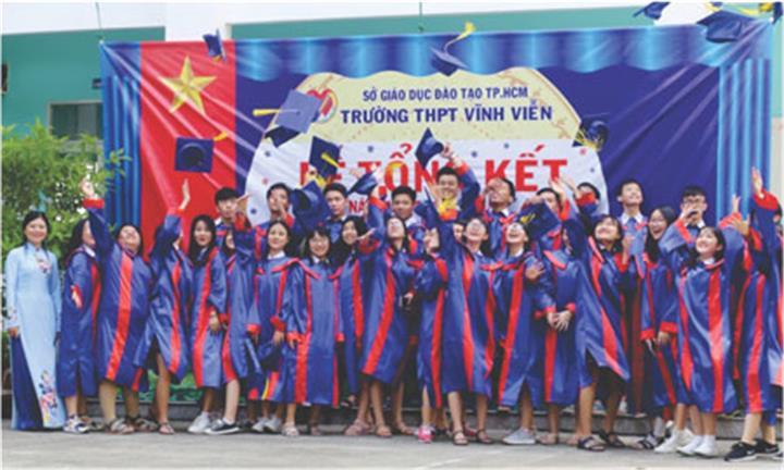 Trường THPT Vĩnh Viễn (Q. Tân Phú, TP.HCM): Nơi trao gửi một thời thanh xuân đáng nhớ