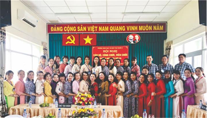 Trường MN Sơn Ca (Q.2, TP.HCM): Môi trường, cảnh quan sinh động nâng chất lượng chăm sóc trẻ