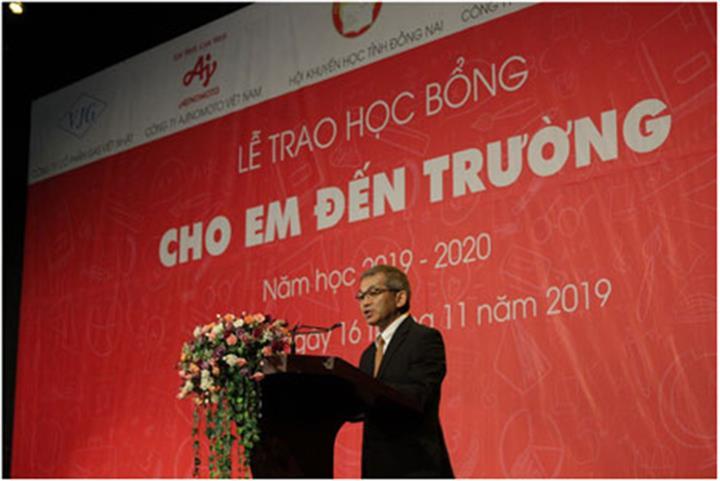 400 suất học bổng cho học sinh hiếu học tỉnh Đồng Nai