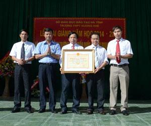 Trường THPT Hương Khê: Nửa thế kỷ xây dựng và phát triển