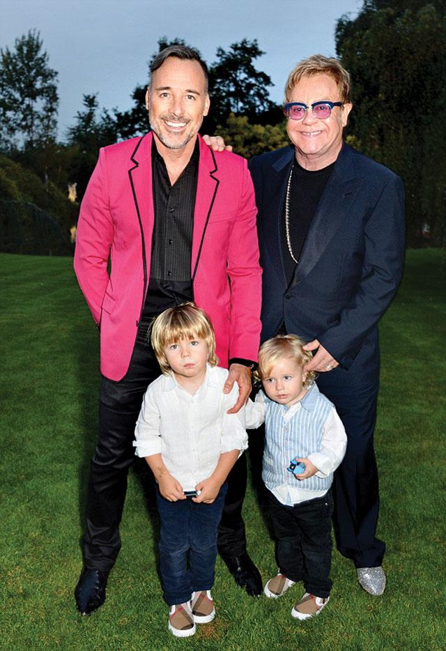 Image result for Domenico Dolce và Stefano Gabbana Elton John