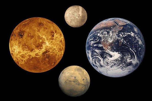 Các hành tinh Trái Đất.