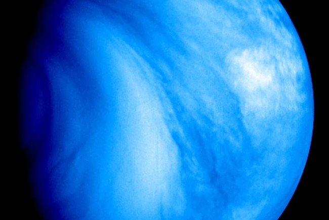 Nam bán cầu của sao Kim, được quan sát trong vùng tử ngoại.