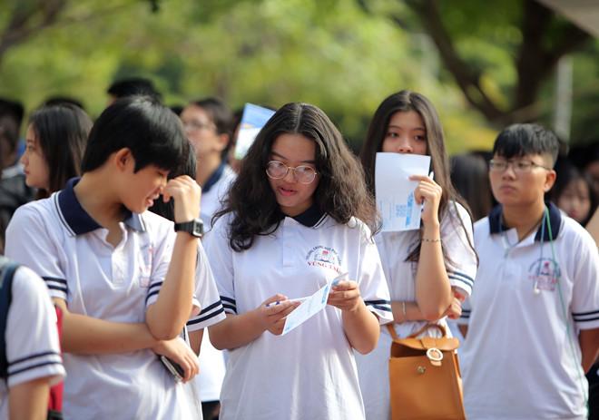Học sinh tham dự chương trình Tư vấn mùa thi của Báo Thanh Niên /// NGỌC DƯƠNG