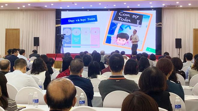 PGS Lê Anh Vinh nói về việc giúp học sinh thoát khỏi nỗi sợ môn toán /// TUYẾT MAI
