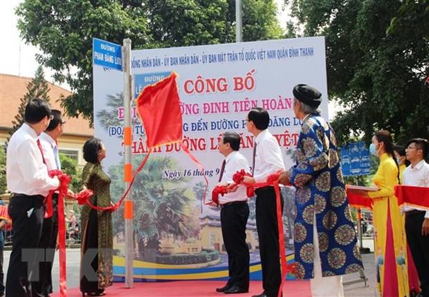 Thanh pho Ho Chi Minh cong bo dat ten duong Le Van Duyet hinh anh 1