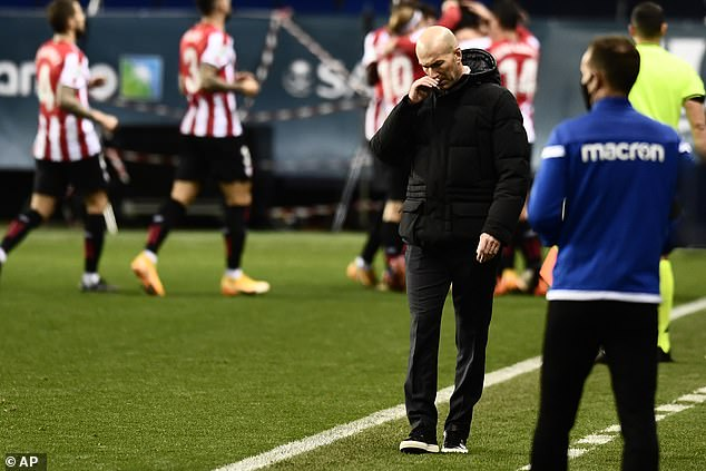 Defeat compounded a miserable five days for Zinedine Zidanes side due to their travel woes