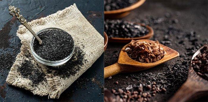 Muối đen đem lại nhiều lợi ích cho sức khỏe.